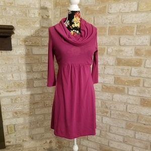 Charming Charlie scoop neck purple dress